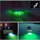 """Green 6 led 1/2"""" NPT Underwater Boat Drain Plug Light with connector for fishing"""