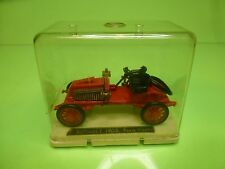 SAFIR 7 RENAULT 1902 PARIS VIENNE - RED 1:43? - GOOD CONDITION IN SHOW-CASE