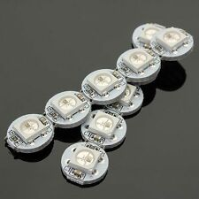 10Pcs DC 5V 3MM x 10MM WS2812B SMD LED Board Built-in IC-WS2812