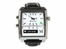 Martian Passport Voice Command Smart Watch White/Silver