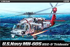 Academy 1/35 Plastic Model Kit US Navy MH-60S HSC-9 TRIDENTS  #12120