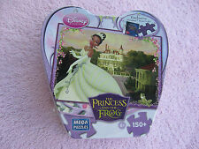 Disney Princess and the Frog Puzzle with Tin Case Tiana /Sealed In Shrinkwrap!