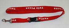 Tele Pizza Schlüsselband Lanyard NEU (T269)