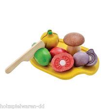 PlanToys 3601 Couper les légumes Légume Set bois neuf! #