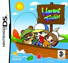 Nintendo DS NDS DSI XL Gioco Harvest Pesca NUOVO