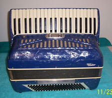 Pancordion Video 120 bass Accordion 2/2 reg.  accordian G. Cond.  W/ microphone