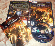 Mark of chaos battle march expansion pc 2008 rare très bon état