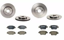 NEW Jaguar X-Type 02-05 Set of Front and Rear Disc Break Rotors and Pads