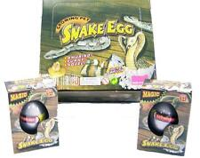 2 SNAKE WATCH THEM HATCH AND GROW EGGS novelty growing  JUST ADD WATER magic NEW