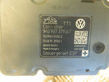 VW GOLF MK6 GTD ABS PUMP AND ECU  1K0907379AT- 1K0614517CB 2009-2012 GTD 170
