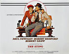 The Sting Paul Newman Robert Redford Classic Movie Poster A1 A2 A3 A4 Sizes