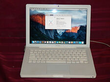 White Apple Early 2009 Macbook 13 With Screen Issue