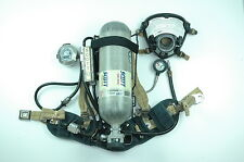 SCOTT 4.5 Wireframe SCBA Overhauled w/Supplied Air Connection & Quick Fill
