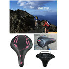 Large Soft Comfortable Wide Large Bicycle Bike Cycling Saddle Springs Seat Sport