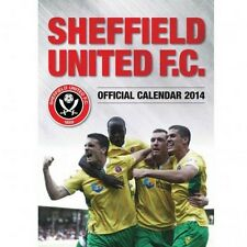 Sheffield United 2014 Calendar The Blades English Premier League new Soccer