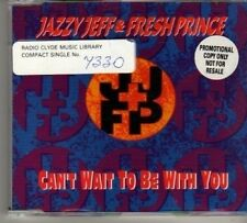 (BN674) Jazzy Jeff & Fresh Prince, Can't Wait - 1994 CD