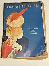 VTG - SEARS CATALOG 1941 Spring & Summer - Chicago Illinois - 1070 Pages