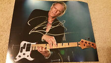 BILLY SHEEHAN SIGNED AUTOGRAPHED 8x10 PHOTO Mr Big Winery Dogs David Lee Roth #B