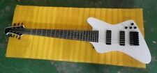 New brand electric 7string bass in white color