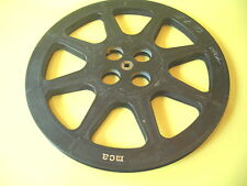 """16 MM FILM REELS TWO PLASTIC AND ONE METAL MCA ONE 12 AND TWO 13 1/2"""""""