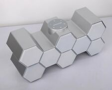 HONEYCOMB BLUETOOTH WIRELESS PORTABLE SPEAKER SILVER