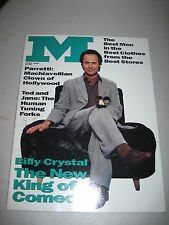 M Magazine March 1992. Billy Crystal Cover! (gay interest) dna