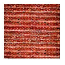 Vinyl Photography Background Backdrop Studio Photo Props Red Brick Wall 10X10FT