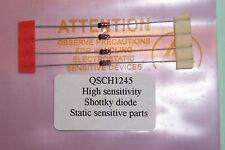 HP qsch 1245 = hp5082-2835 Schottky ad alta sensibilità rivelatore Qtà 4 pezzi di ricambio HP NOS