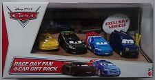 MATTEL® Y7334 Disney® Cars Race Day Fan 4-Car Geschenk Set