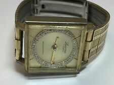 Vintage Lucerne 17 Jewels 1/40 10KT Top Caps Swiss Watch For Repair/Parts(#4091)