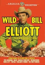 Wild Bill Elliott Western Collection (8 Films on 3 DVD's)