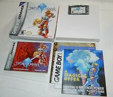 Sword of Mana (Nintendo Game Boy Advance) GBA **COMPLETE IN BOX**
