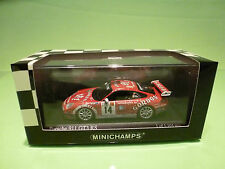 MINICHAMPS 1:43 PORSCHE 911 GT3 RSR - GORDON No 14 - ARDENNE BLEUE 2006 - MIB