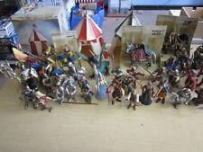30 x SCHLEICH Ritter Figuren Sammlung + 3 Zelte teils OVP