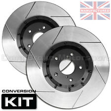 RENAULT CLIO V6 (330mm x 28mm) FRONT ROTOR BELLS (PAIR) CMB0118