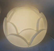 Flush Mount WATER LILY glass Light SCONCE LAMP PEILL PUTZLER 60s 70s west german