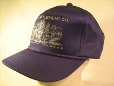 Men's Snapback Cap THOMAS IMPLEMENT CO. Cimarron Kansas Adjustable [Y154]
