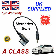Mercedes Benz A CLASS A0018279204 3.5mm jack MP3 iPod in car Cable replacement