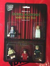 "Citizen Brick Twin Peaks ""Double Mountain Murder Mystery Town"" Minifigures LEGO"