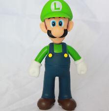 """Super Mario Brothers Bros Action Figure Luigi Collection 5"""" USA SELLER Nintendo"""