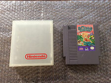 Bonk's Adventure (Nintendo, NES) AUTHENTIC Game Cart - Tested