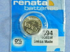Renata    394 SR936SW Batteries  Button Cell ,1Pcs