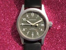 RARE HAMILTON KHAKI FIELD MECHANICAL MILITARY REF.H693190 CAL.ETA 2804-2