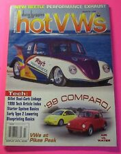 DUNE BUGGIES AND HOT VWs MAGAZINE MARCH/1999...1999 COMPARO: AIR VS WATER
