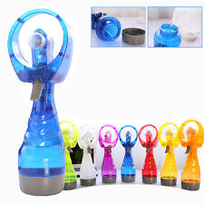 Mini Hand Held Cooling Cool Water Spray Misting Portable Fan Mist Travel Beach