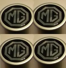 4 x MG Wheel Centre logos 40mm dia for MGB GT & Roadster 1962-80