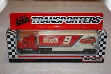 Matchbox Super Star Transporters 1992 Bill Elliott 9 MELLING Racing CY 107 MIB