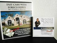 Cameron Dunlap Fast Cash with Foreclosures Course $1000 Value! DOWNLOAD ONLY