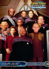STAR TREK DEEP SPACE 9 MEMORIES FROM THE FUTURE 1999 SKYBOX PROMO CARD NO NUMBER