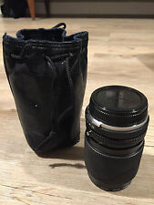 OLYMPUS OM ZUIKO 35-105mm f3.5-4.5  WITH POUCH AND FILTERS- Excellent Condition